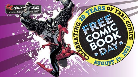 Free Comic Book Day Is On August 14!