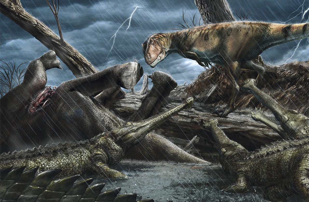 The Sahara Desert Was Once Home To Earth's Most Vicious Dinosaurs