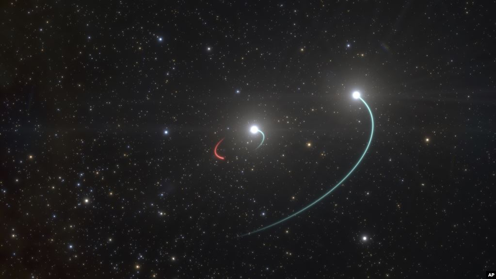 """Astronomers Discover Black Hole Hiding In Plain Sight In Earth's """"Backyard"""""""