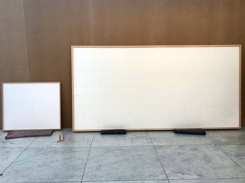 Should A Blank Canvas Be Considered Art? One Dutch Artist Certainly Thinks So!